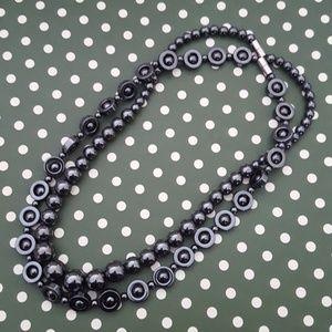 Jewelry - Set of 2 Hematite Beads Necklaces
